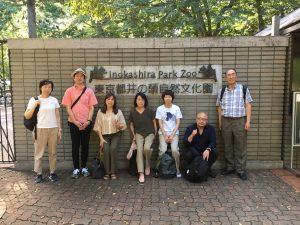 2018年 井の頭公園吟行会